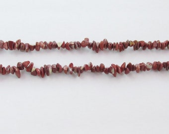 Vintage Strands of Jasper Nuggets - 7 Strands & 1 necklace