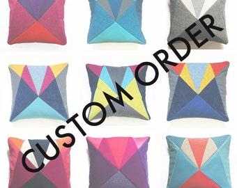 CUSTOM AU Patchwork cushion