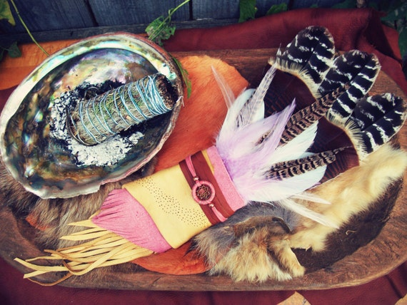 Large Smudge Fan Prayer Feather Ceremonial Feathers Blessing Feathers Sage Burning Cleansing Feathers Turkey Pheasant Rooster