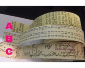 Postale Paper Tape ( 1 set if each avail.)