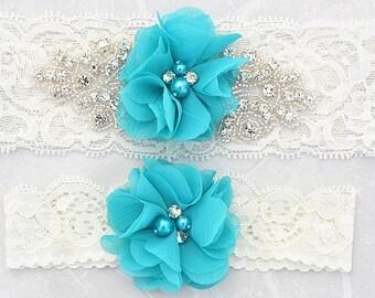 SALE vintage garter , bridal garter, wedding garter, garter , lace garter, flower garter