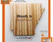 9'' Arkansas personalized cutting board cutting boards wood cutting board wooden cutting board cutting board personalized engraved gifts