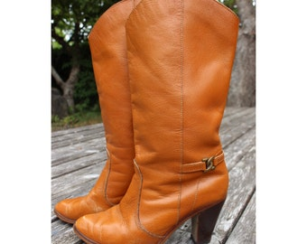 1970s Kinney Boots from Brazil Size 7.5