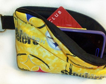 Steelers Small Cell Phone Wallet