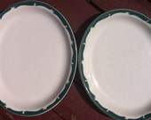 Two Vintage Syracuse China Platters