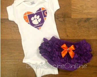 Clemson University Girls Outfit