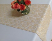 Gold Lace Table Runner - SELECT A SIZE