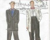 UNCUT Simplicity 8879 Retro Fashion Collection Zoot Suit Pattern SZ 46-52