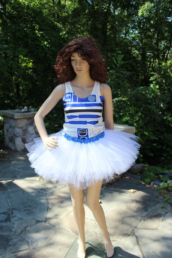 Ready To Ship Rts Whole Outfit Star Wars R2d2 Run Disney