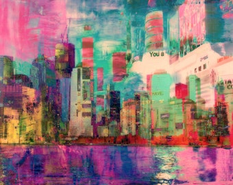 Paint the City: Time Square Lights