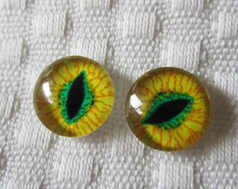 12mm Glass eyes
