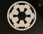 Star Wars Imperial Seal vinyl sticker 5x5
