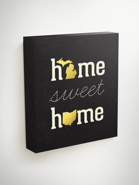 Home Sweet Home Wall Art home sweet home wall art two states love long distance