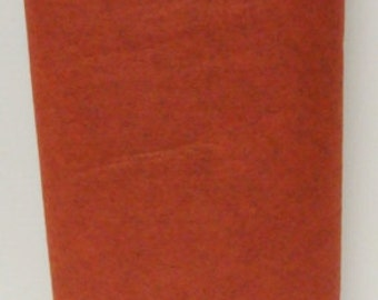 Ember 20% Merino Wool Felt Blend Fabric By the Yard from Woolhearts