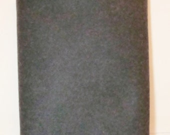 SMOKE Wool Felt Sheet 35% Wool Felt Blend Fabric-National Nonwovens Manufactured in USA