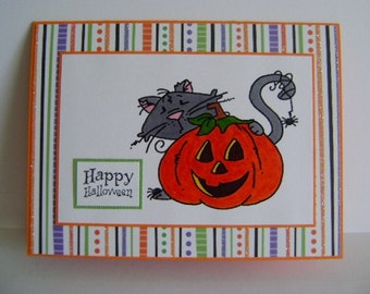 SALE - Happy Halloween note card