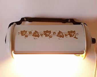 Vintage Lighting Overhead Metal Lamp Old Head Board Lamp Vintage Bathrom Lighting Fixture Adjustable Metal Shade Pull In Cord
