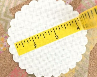 Washi Tape: Ruler
