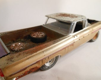 Classicwrecks Scale Model Rusted Car Chevy El Camino
