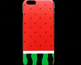 Iphone 6 and 6 plus Watermelon Design hard phone case cover