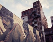 Detroit Photography - Aryz Brick Wall Mural