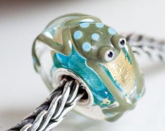 Small Core Frog Artisan Bead SRA Lampwork Beads BHB