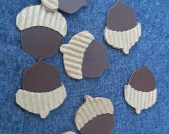 Acorns - Cardboard for a Fall Decoration