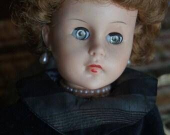 Vintage blinking eye doll 19 inch doll