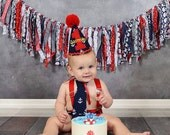 boy anchor cake smash outfit, , first birthday Nautical, navy party, anchors with red trims