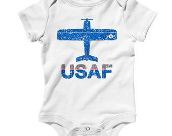 Air Force Baby Hat & Outfit Set Gift Set graphy Prop