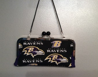 Baltimore Ravens clutch/wallet