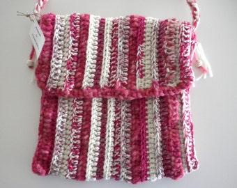 Hobo Messenger Bag, Crossbody Hobo Bag, Hobo Purse, Shoulder Bag, Shoulder Purse, Messenger Purse, Hipster Purse Crochet Handmade