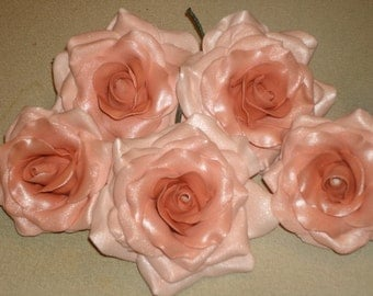 Ombre Gum Paste Roses for Weddings, Showers, Anniversaries, Graduation