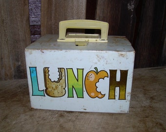 Vintage Metal Lunch Box - Mini Lunch - J. Chein
