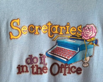 Vintage Naughty Secretaries T-Shirt