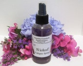 Wicked Cologne Body Spray - New Fragrance For 2015 - Perfume Spray, Scented Spray, Body Spray - 4 ounce sprayer bottle