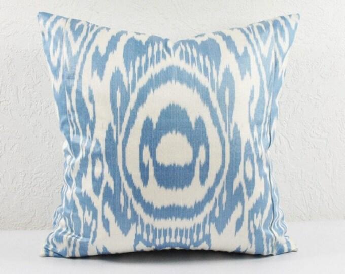 Ikat Pillow, Hand Woven Ikat Pillow Cover  spi510, Ikat throw pillows, Designer pillows, Decorative pillows, Accent pillows