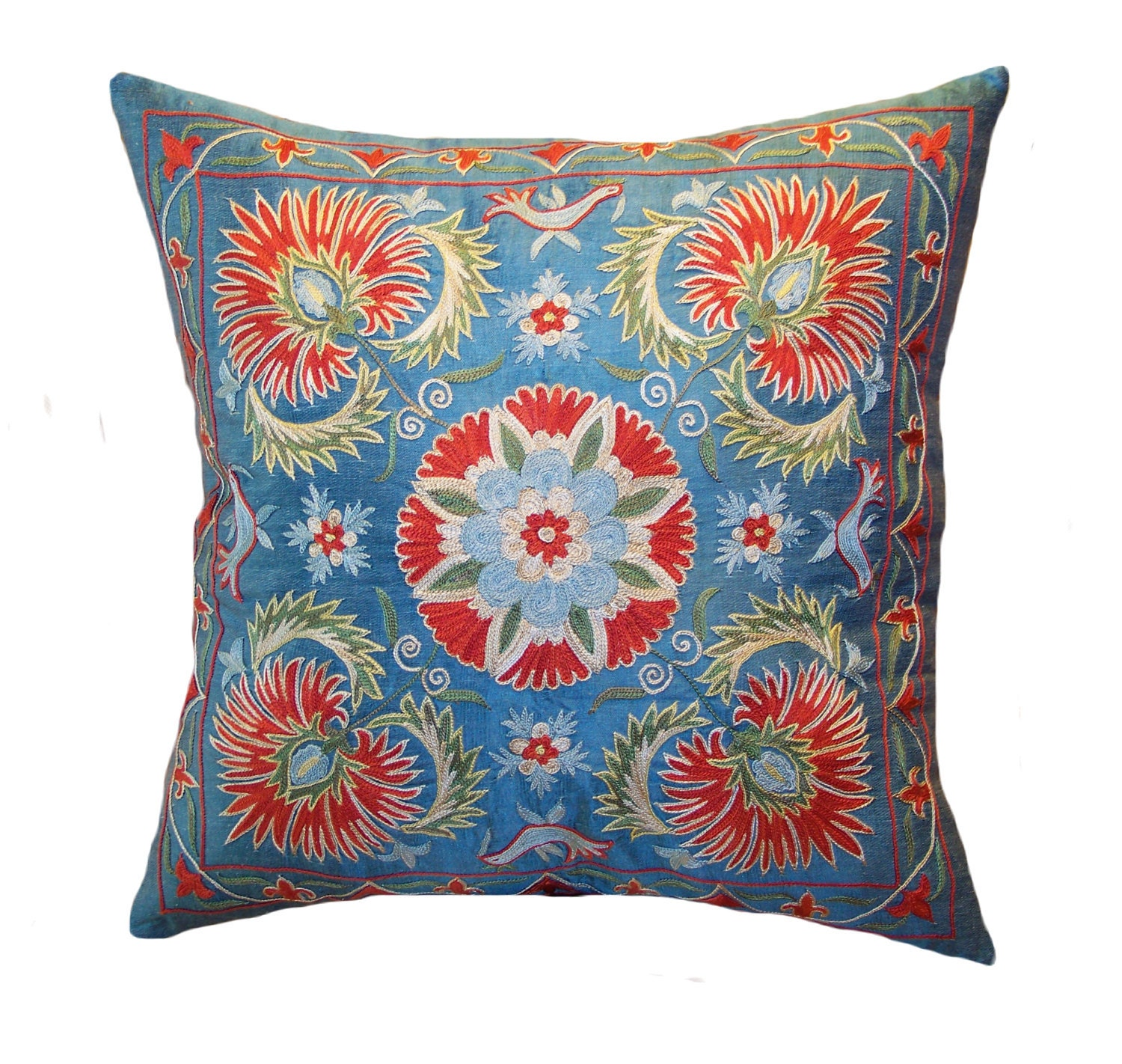 Throw Pillow Synonym : Image Gallery suzani pillows