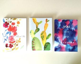 Set of 3 greeting card