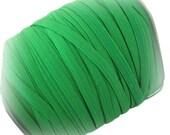 """1/4"""" Green  Elastic --Narrow  Elastic -- 5 Yds"""