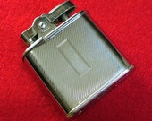 Elegant Vintage Ronson Whirlwind refillable Chromed Lighter Collectible Art Deco Mid-Century Madmen Father's Day Gift for Him