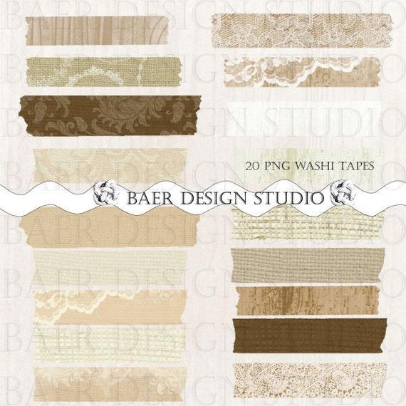wood digital washi tape rustic wood washi tape lace washi. Black Bedroom Furniture Sets. Home Design Ideas