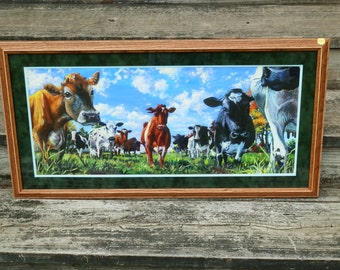 """Framed Giclee Print of """"Who Are You""""  by Sadie Allen"""