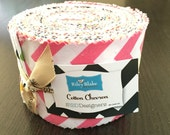 Small Chevron Rolie Polie in Riley Blake Fabric