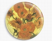 Needle minder for Cross Stitch - Van Gogh Cross Stitch, Sunflowers - Tapestry and Needlepoint