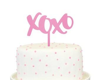 XOXO Cake Topper