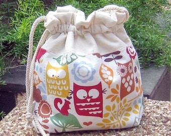 3 in 1 handbag / shoulder bag / crossbody bag ~ Lovely owls (A15)