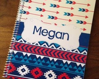 Spiral Notebook, Custom Notebook, Personalized Sketchbook, Personalized Notebook, Personalized Journal, Personalized Diary - Megan