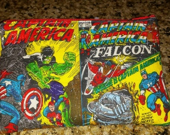 Captain America, Hulk, Avengers pouch