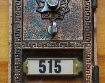 VINTAGE MAILBOX DOOR